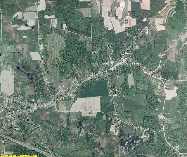 Cattaraugus County, New York aerial photography