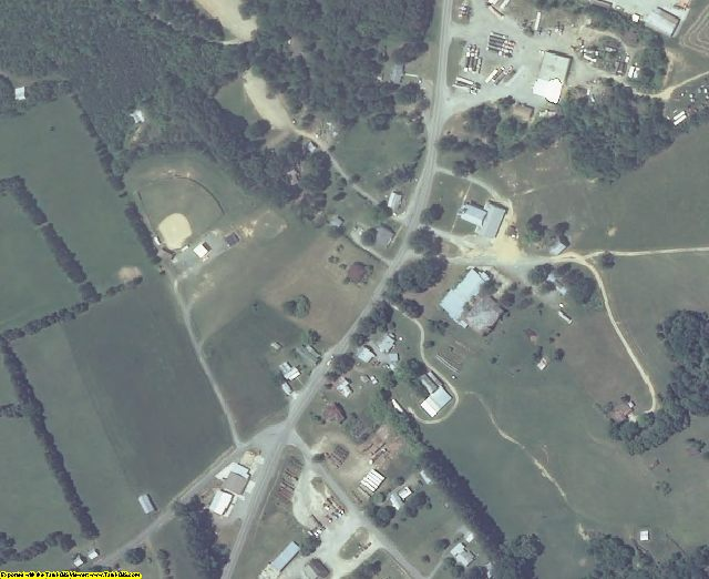 Charlotte County, VA aerial photography detail