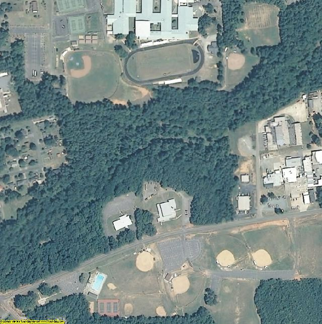 Chatham County, NC aerial photography detail