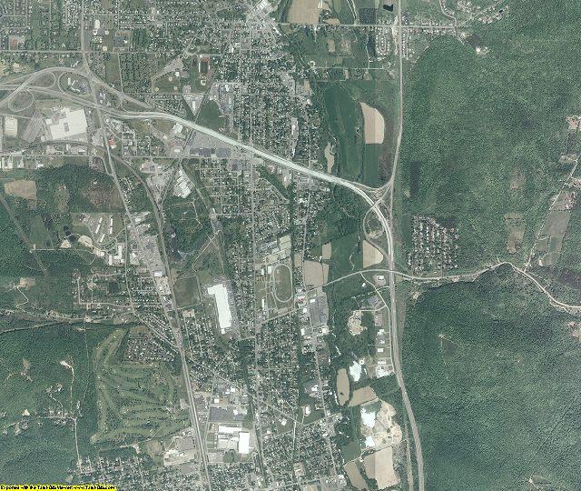 Chemung County, New York aerial photography