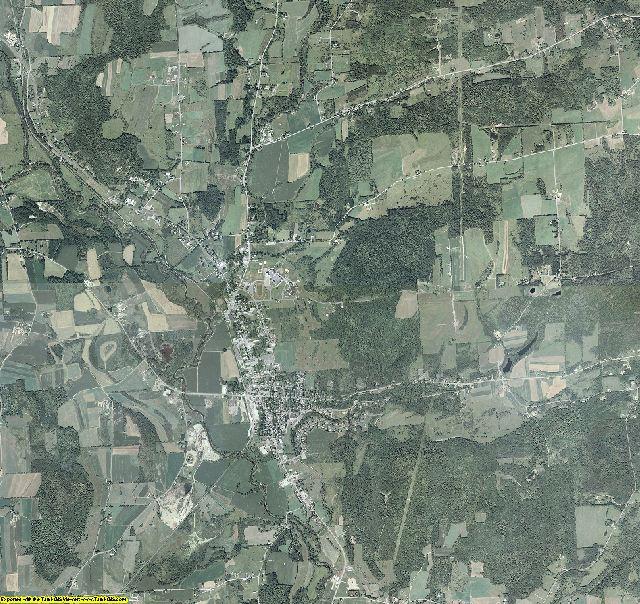 Chenango County, New York aerial photography