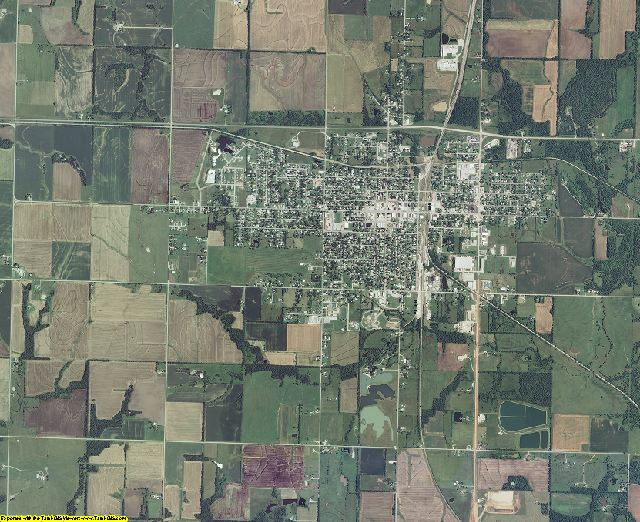 Cherokee County, Kansas aerial photography