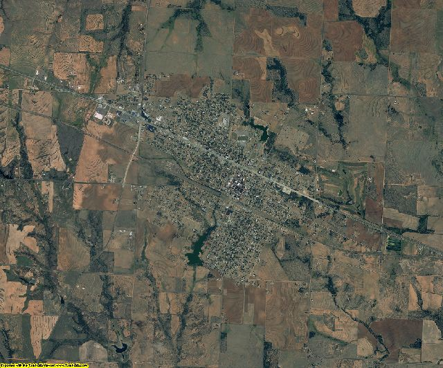 Childress County, Texas aerial photography
