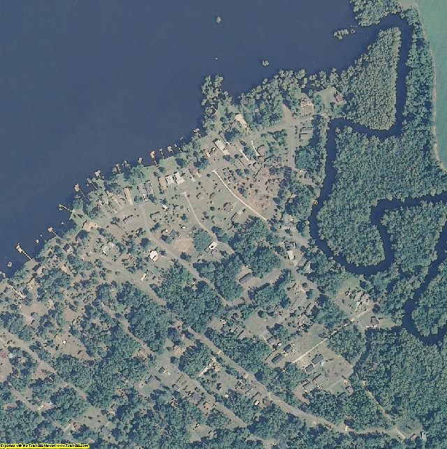 Chowan County, NC aerial photography detail