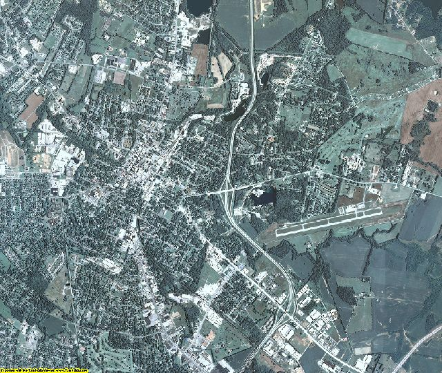 Christian County, Kentucky aerial photography