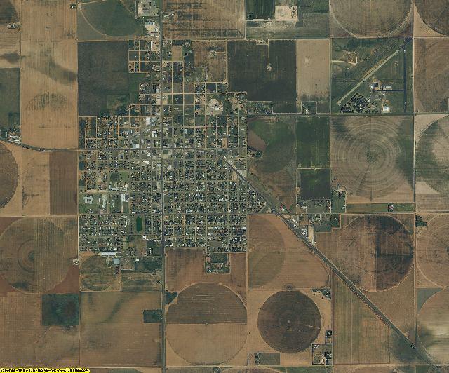 Cochran County, Texas aerial photography
