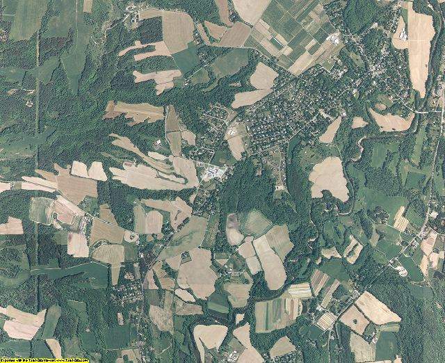 Columbia County, New York aerial photography