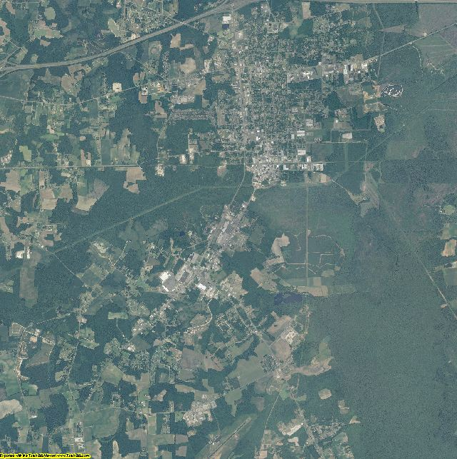 Columbus County, North Carolina aerial photography