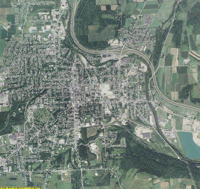 Cortland County, New York aerial photography