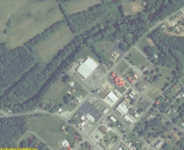 Craig County, VA aerial photography detail