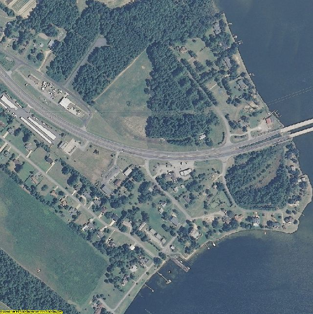 Currituck County, NC aerial photography detail