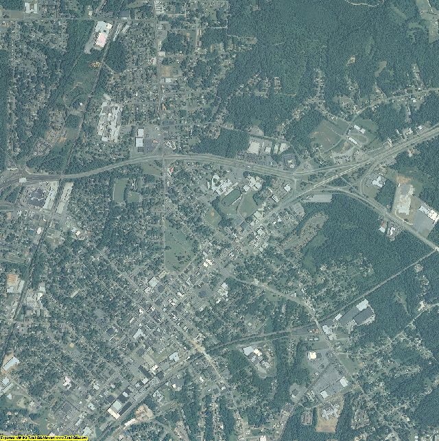 Davidson County, North Carolina aerial photography
