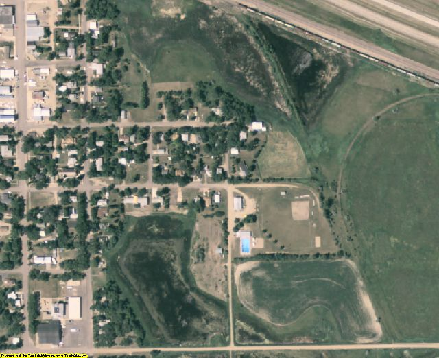 Day County, SD aerial photography detail