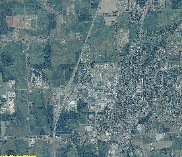 DeKalb County, Indiana aerial photography