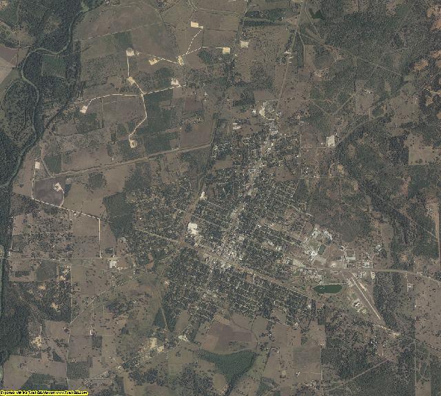 DeWitt County, Texas aerial photography
