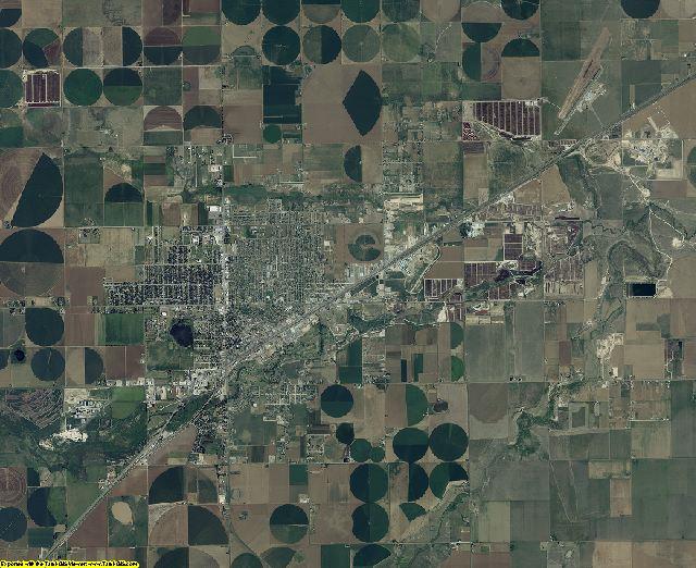 Deaf Smith County, Texas aerial photography