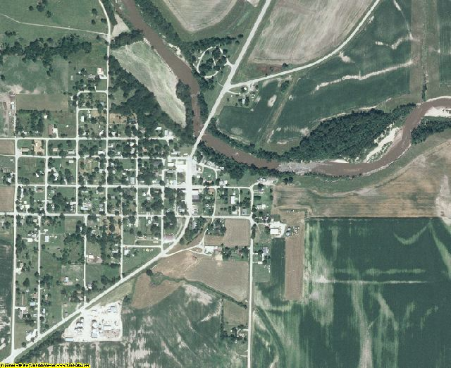 Decatur County, IA aerial photography detail
