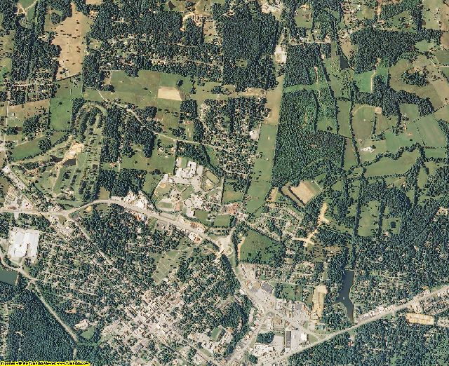 Dickson County, Tennessee aerial photography