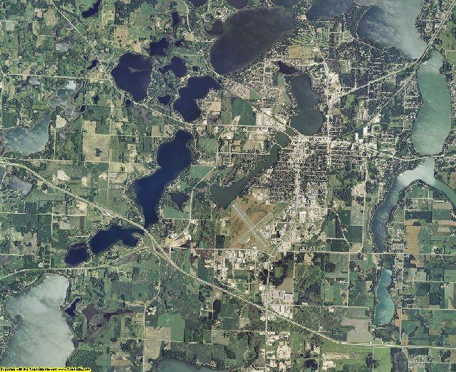 Douglas County, Minnesota aerial photography