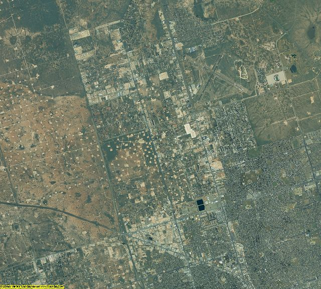 Ector County, Texas aerial photography