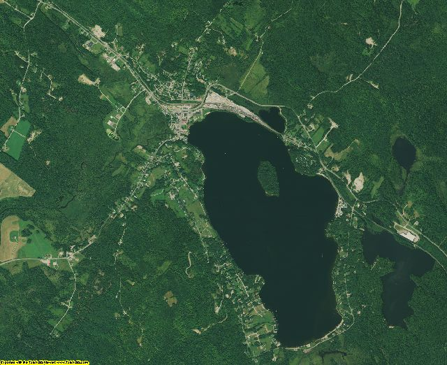 Essex County, Vermont aerial photography