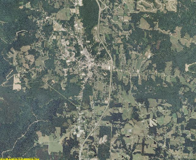 Fentress County, Tennessee aerial photography