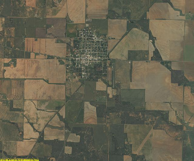 Foard County, Texas aerial photography