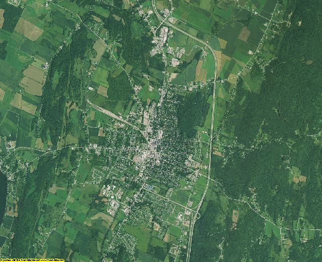 Franklin County, Vermont aerial photography