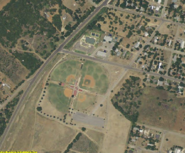 Frio County, TX aerial photography detail