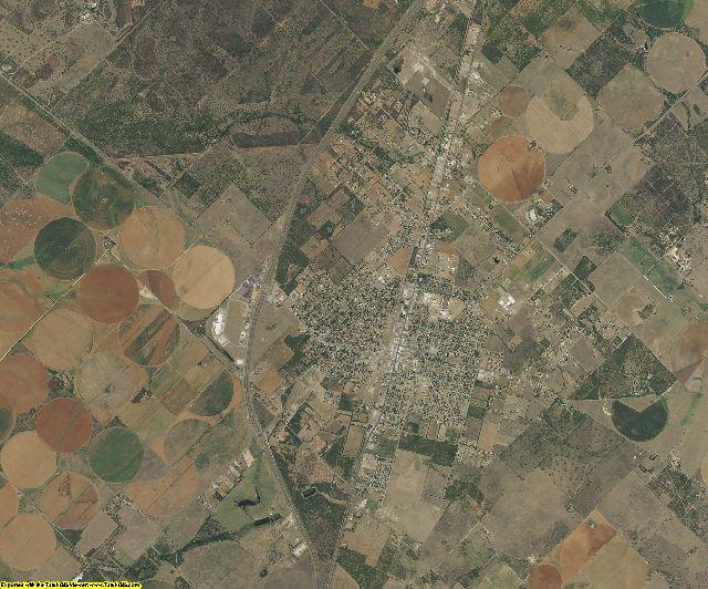 Frio County, Texas aerial photography
