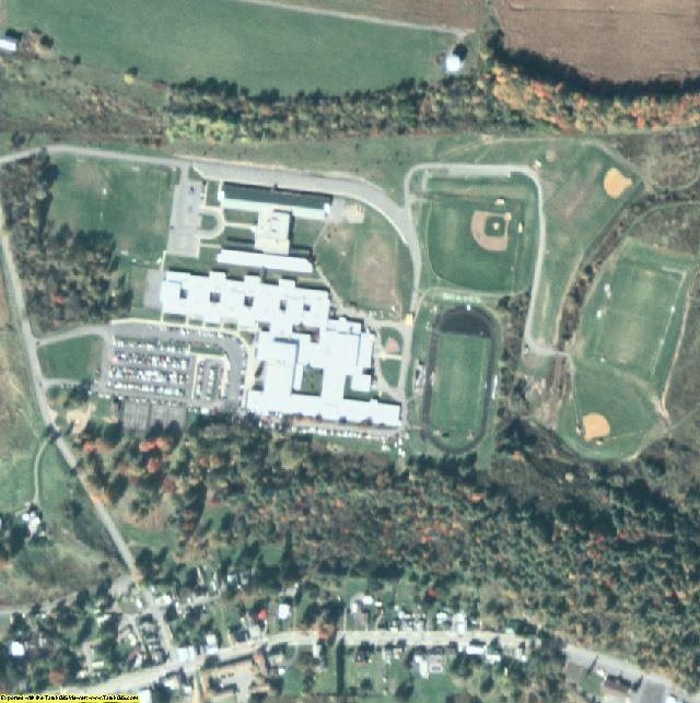 Fulton County, NY aerial photography detail