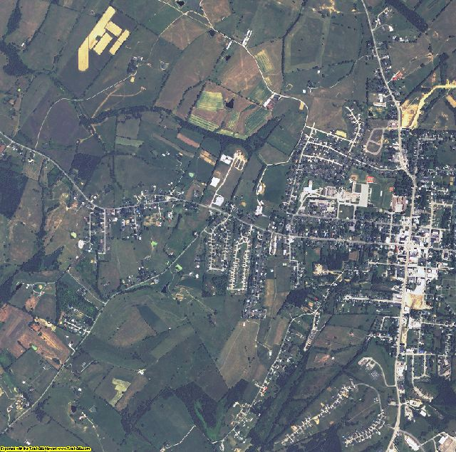 Garrard County, Kentucky aerial photography