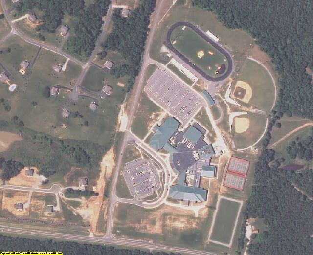 Sample of Goochland County, VA aerial imagery zoomed in!