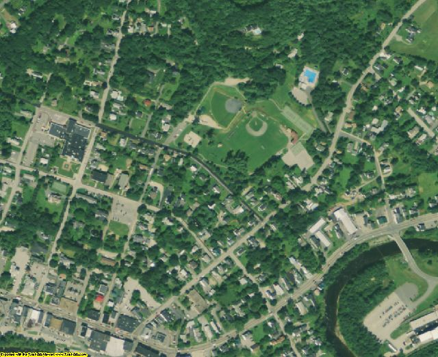 Grafton County, NH aerial photography detail