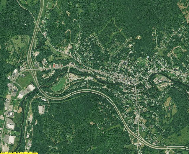 Grafton County, New Hampshire aerial photography