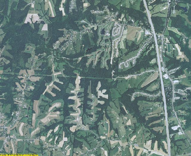 Grant County, Kentucky aerial photography