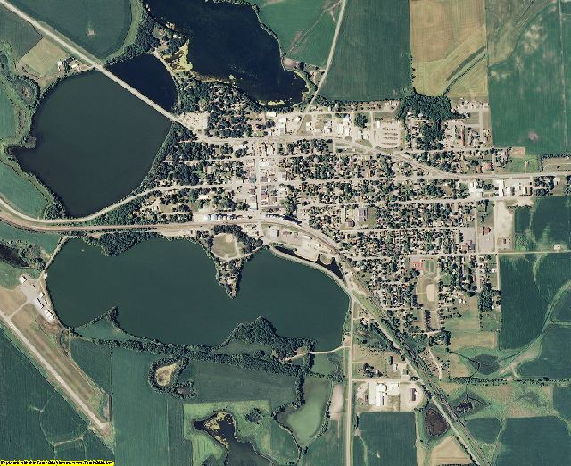 Grant County, Minnesota aerial photography