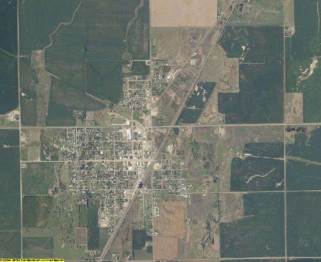 Grant County, Oklahoma aerial photography