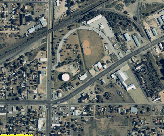 Gray County, TX aerial photography detail