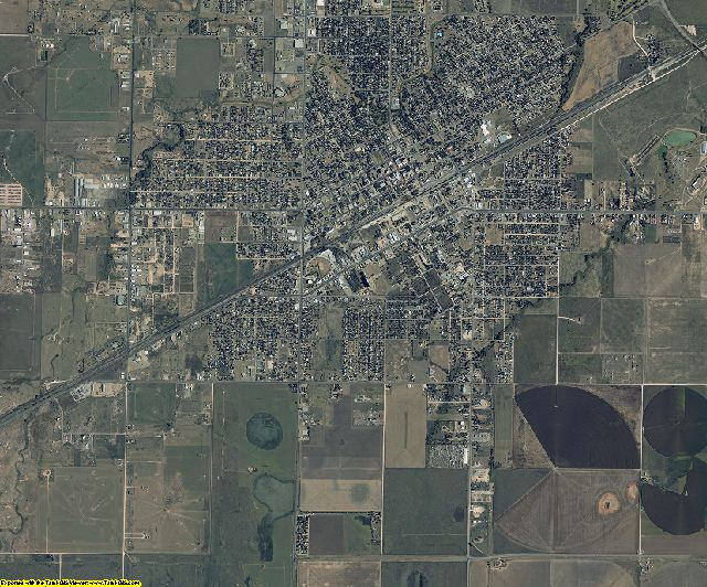 Gray County, Texas aerial photography