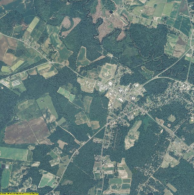 Greene County, North Carolina aerial photography