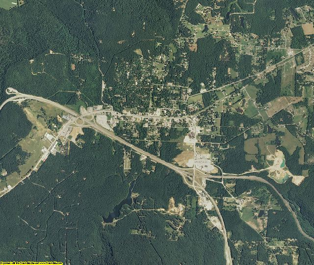 Grundy County, Tennessee aerial photography