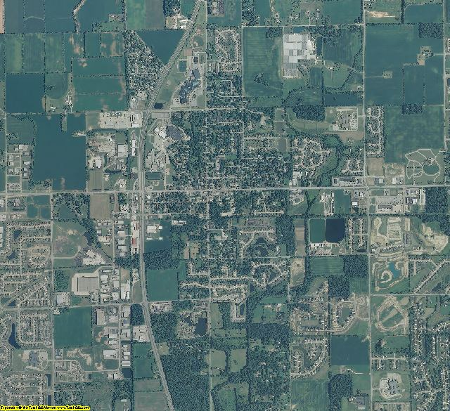 Hamilton County, Indiana aerial photography