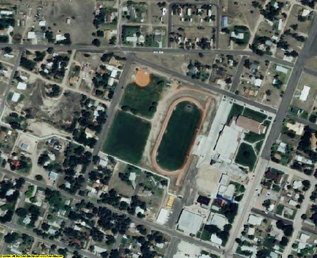 Hamilton County, KS aerial photography detail