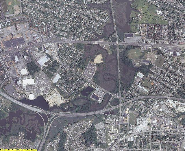 Hampton County, Virginia aerial photography