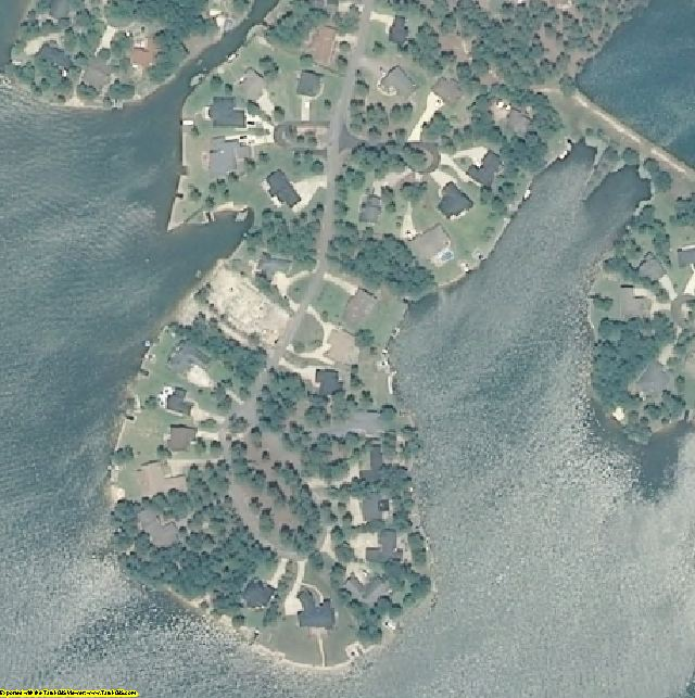Harnett County, NC aerial photography detail