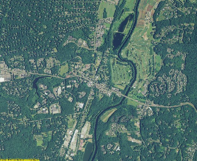 Hartford County, Connecticut aerial photography