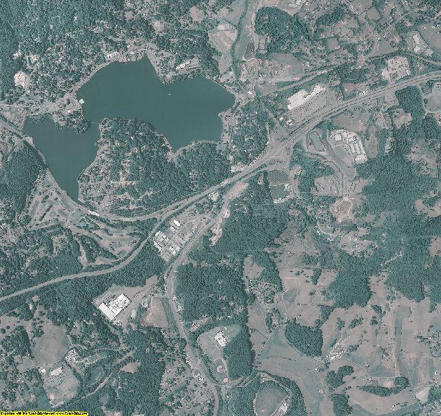 Haywood County, North Carolina aerial photography