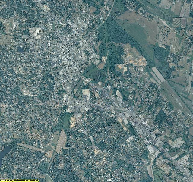 Henderson County, North Carolina aerial photography