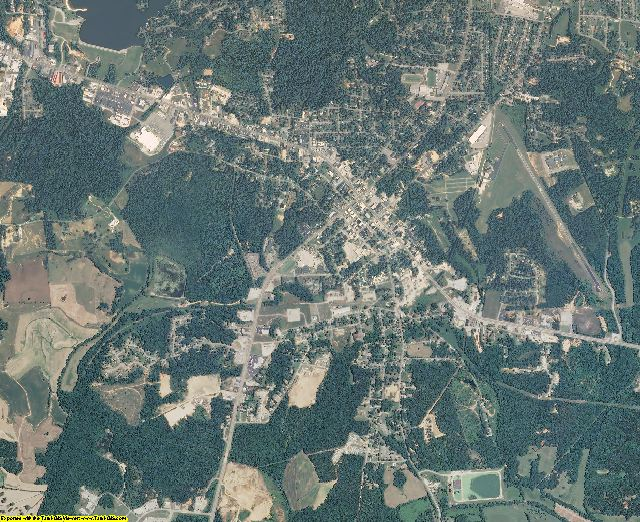 Henderson County, Tennessee aerial photography